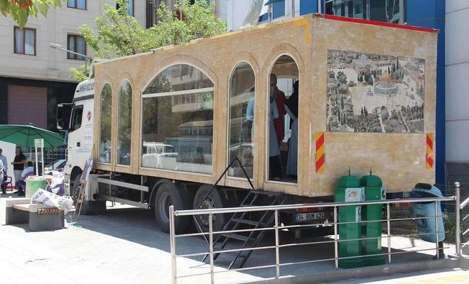 Minia Kudüs tırı Van'da