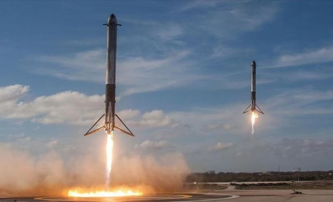Uzaya tek seferde 143 uydu fırlatıldı