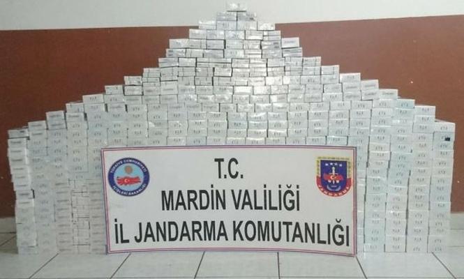 Mardin`de kaçak sigara operasyonu: 4 gözaltı