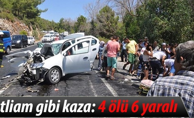 Katliam gibi kaza: 4 ölü 6 yaralı