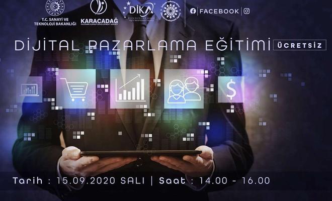 """Mardin'de """"Online Dijital Pazarlama Eğitimi"""" verilecek"""