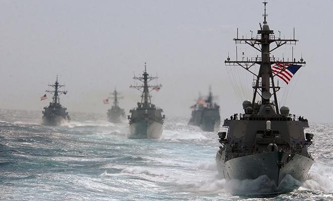 ABD savaş gemileri Tayvan Boğazı'ndan geçti!