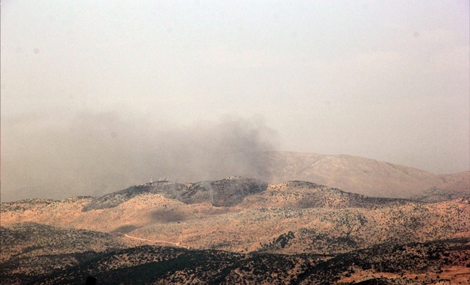 İşgal çetesinin saldırısına Hizbullah karşılık verdi