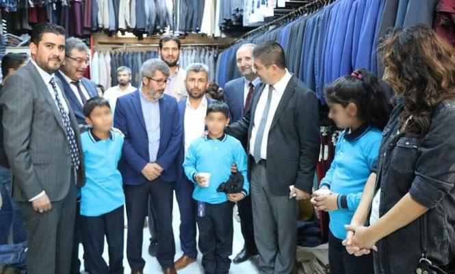 Gaziantep`te öğrencilere yardım