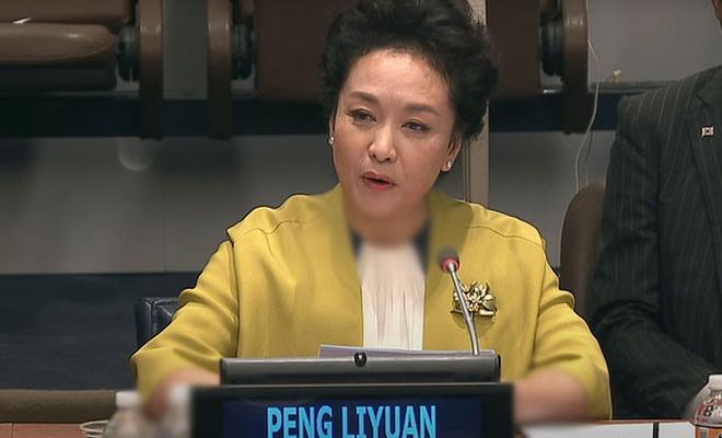 Çin liderinin eşi DSÖ iyi niyet elçisi çıktı