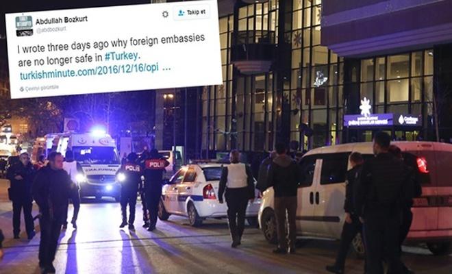 Firari FETÖ`cü suikastı twitterde önceden paylaşmıştı