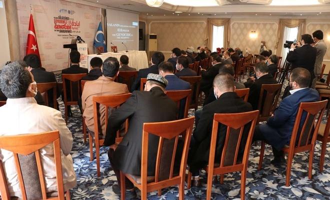 Doğu Türkistan'da yaşanan soykırım düzenlenen basın toplantısıyla masaya yatırıldı