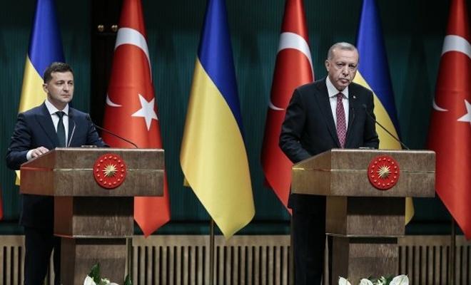 Erdoğan ile Zelenskiy ortak basın açıklaması yaptı