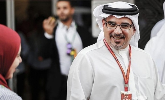 Bahreyn Veliaht Prensi Halife, Pentagon'a gitti