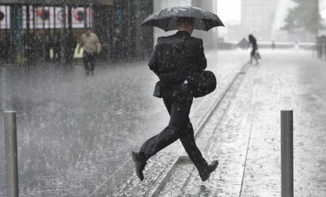 Rize ve Artvin`in kıyı kesimlerinde kuvvetli yağış bekleniyor