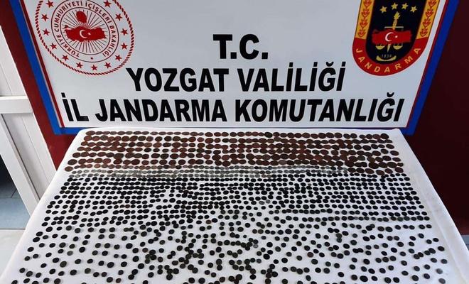 Yozgat'ta tarihi eser operasyonu: 3 şüpheli yakalandı