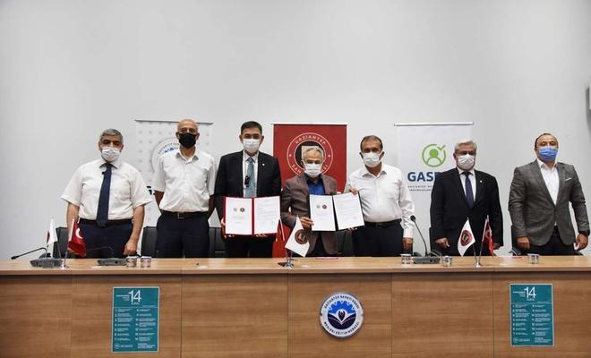 Gaziantep Üniversitesi ve Gaziantep Sanayi Odası arasında iş birliği protokolü