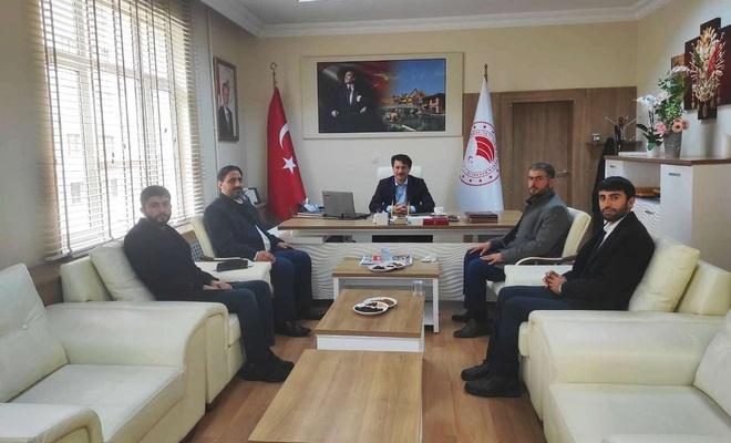 HÜDA PAR Eskişehir İl Başkanı'ndan Tarım ve Orman İl Müdürlüğüne ziyaret