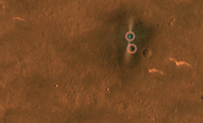 NASA'nın aracı, Çin'in uzay aracını görüntüledi