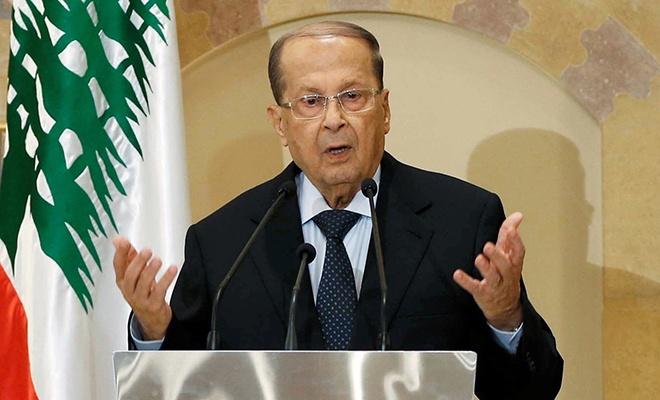 Lübnan Cumhurbaşkanı'ndan terörist israil'e: Bu bir savaş ilanıdır!