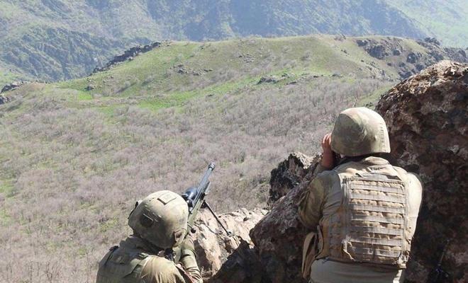 Hakkari kırsalında 2 PKK'li daha öldürüldü