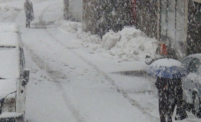 Meteorolojiden 5 il için kar yağışı uyarısı