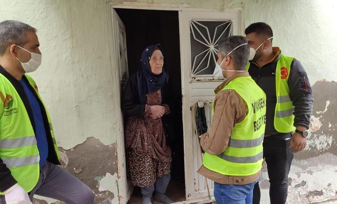 Viranşehir'de 'Vefa Grubu' vatandaşın talebini yerine getiriyor