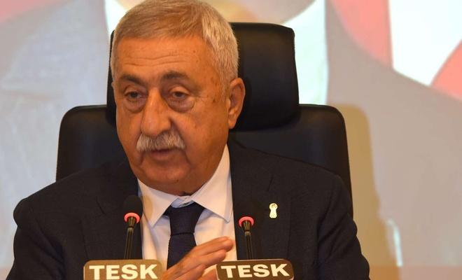 """TESK Genel Başkanı Palandöken'den """"borçların yapılandırılması ödenebilir olmalı"""" uyarısı"""