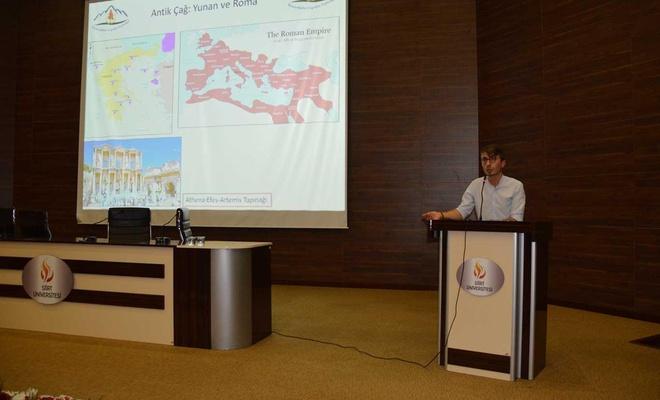 """""""Tefeciliğin politik ekonomisi ve mekansallığı"""" konferansı düzenlendi"""