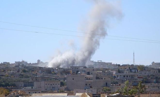 İdlib ve Halep'e hava ve karadan saldırı: 19 ölü