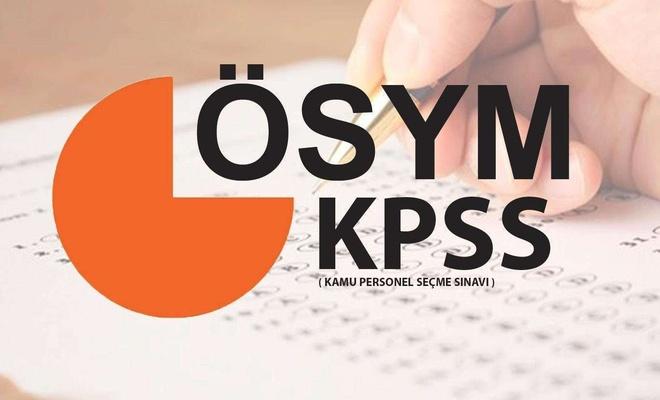 KPSS bugün 10.15'te başlayacak