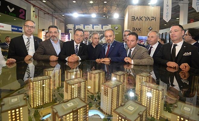 Yapı ve gayrimenkul fuarları Bursa'da kapılarını açtı