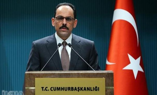 """""""Our main expectation is that this area be under Turkiye's control"""""""