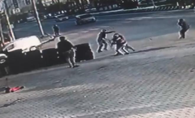 Muş'ta bir kişinin öldüğü kavga güvenlik kamerasına yansıdı