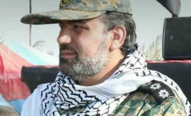 İran Devrim Muhafızları Ordusu'na bağlı Besic Teşkilatı'nın bir komutanı öldürüldü