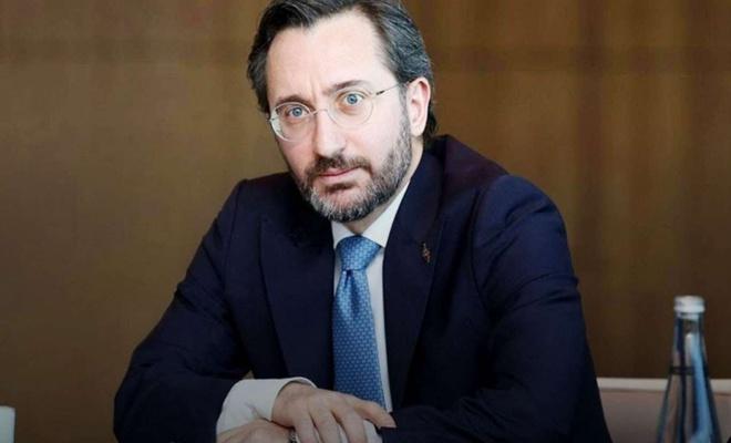 Altun condemns the Greek newspaper for insulting Turkey's president Erdoğan