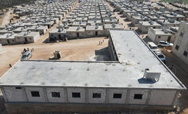 Diyanet İşleri Türk İslam Birliği, İdlib'de ihtiyaç sahipleri için 6 bin konut yapacak