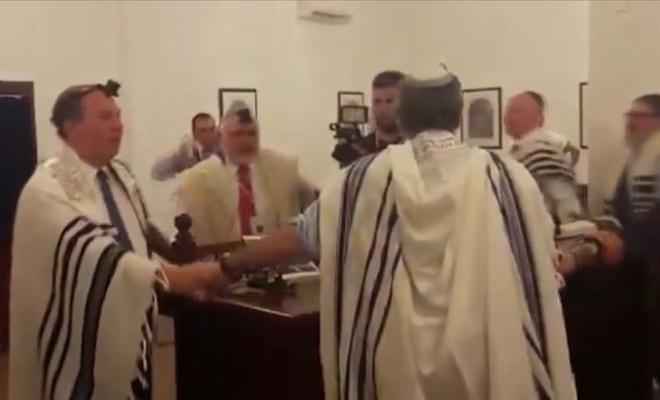 Özel Temsilci, Bahreyn'de Talmudik Ayin Düzenledi