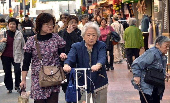 Japonya'da yaşlı nüfus oranında yeni rekor