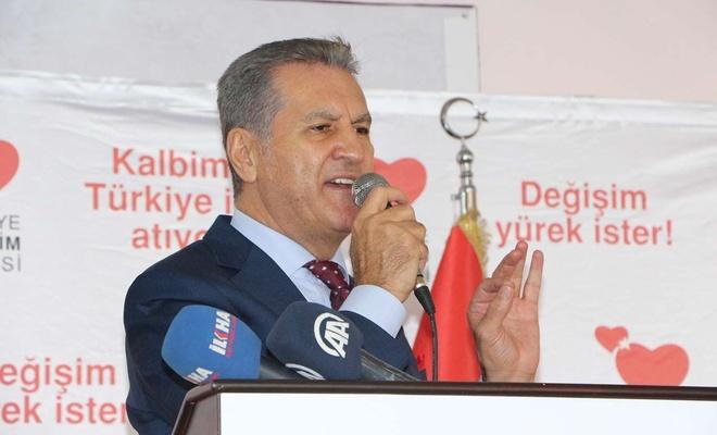 Türkiye Değişim Partisi Genel Başkanı Mustafa Sarıgül Mardin'de konuştu