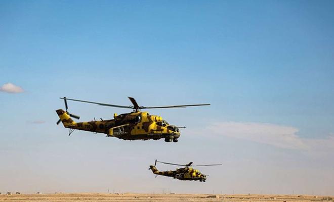 Libya'da Hafter güçlerine ait iki helikopter çarpıştı: 2 ölü