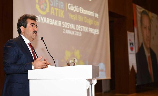 'Sıfır atık projesi ile Diyarbakır'da yeni bir dönem başlatıyoruz'