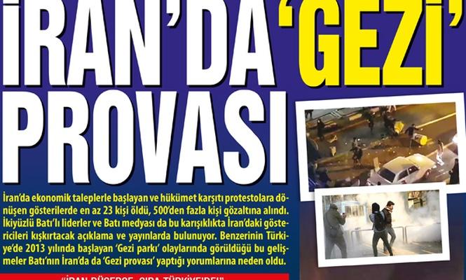 İran`da 'Gezi` provası
