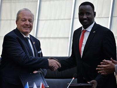 ASO ile Somali arasında işbirliği