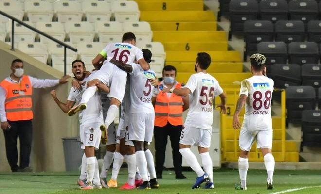 Hatayspor'dan tarihi galibiyet