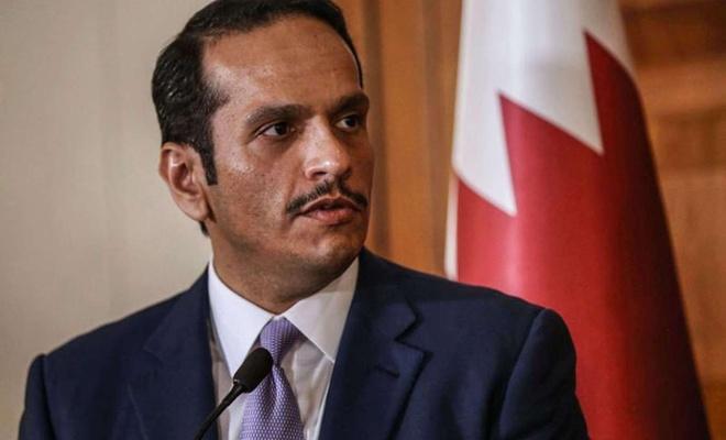 """Katar'dan """"Mukaddesata karşı alçakça yapılan ihlallerin durması için ortak tepki"""" çağrısı"""