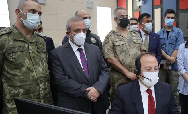 112 Acil Çağrı Merkezi Şırnak'ta hizmete açıldı