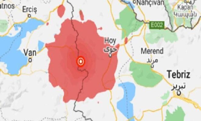 İran'ın Khoy kentinde 4,2 büyüklüğünde deprem meydana geldi
