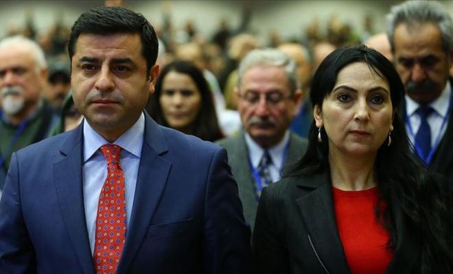 Demirtaş ve Yüksekdağ'a 6-8 Ekim tutuklaması