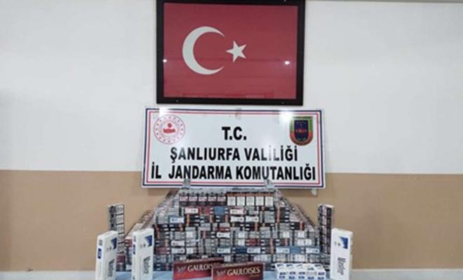 Suriye'den getirdiği bandrolsüz sigaraları satan şahıs yakalandı