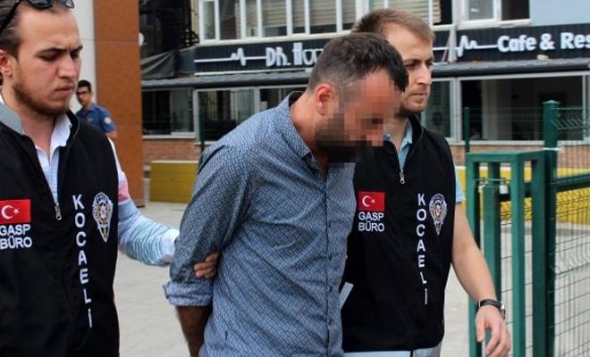 Turisti gasbeden taksici serbest bırakıldı