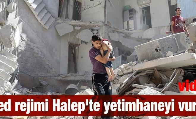 Esed rejimi Halep`te yetimhaneyi vurdu