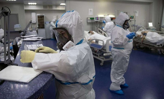 Russia reports 13,233 new coronavirus cases, 459 deaths in the last 24 hours
