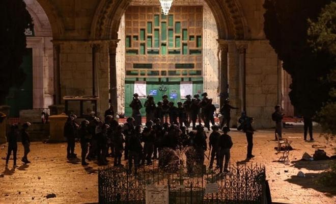 Harem-i Şerif hoparlörlerinden İslam Dünyasına yardım çağrısı