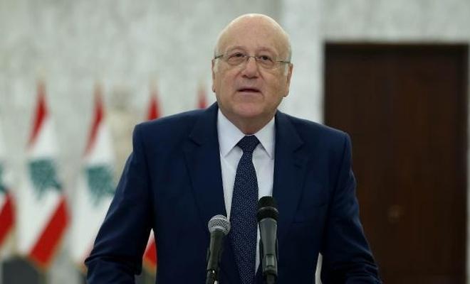 Lübnan'da eski Başbakan Mikati: İnşallah yakında bir hükümete kavuşacağız